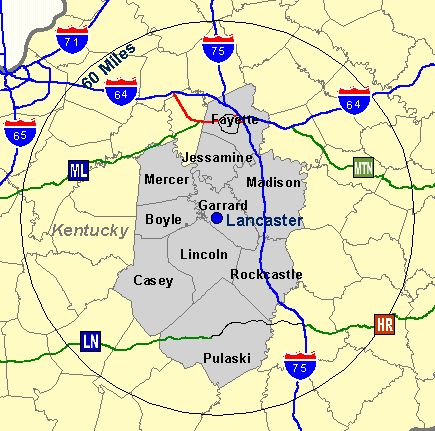 Garrard county labor market counties are composed of counties which exist within a 60 minute drive range of the originating countys county seat a county will be included publicscrutiny Choice Image